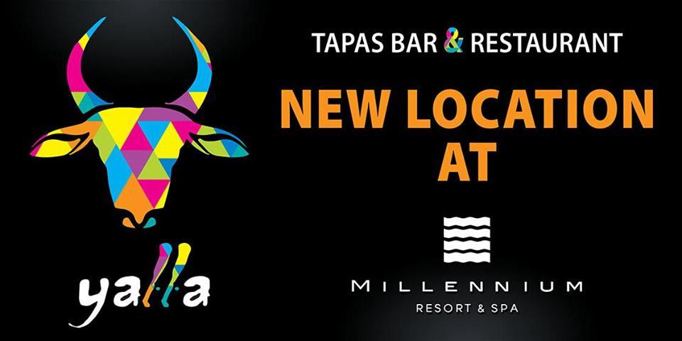 Yalla opening at Millennium Resort
