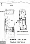 Three Bedroom Penthouse Layout Location