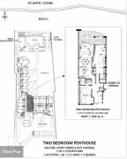 Two Bedroom Penthouse Layout Location